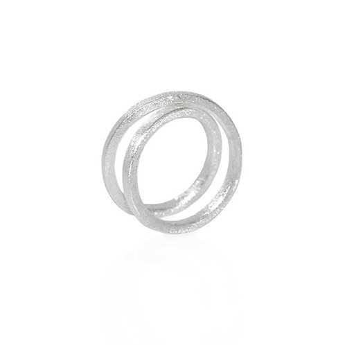 SPIRALE SILVER RING