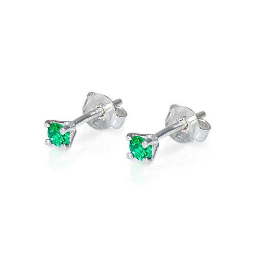 VIER EMERALD EARRINGS