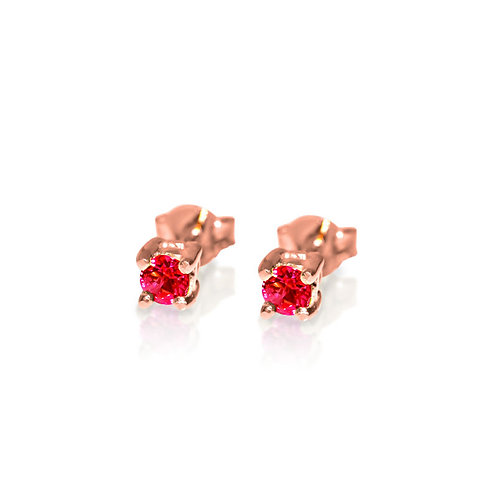 VIER RUBY EARRINGS