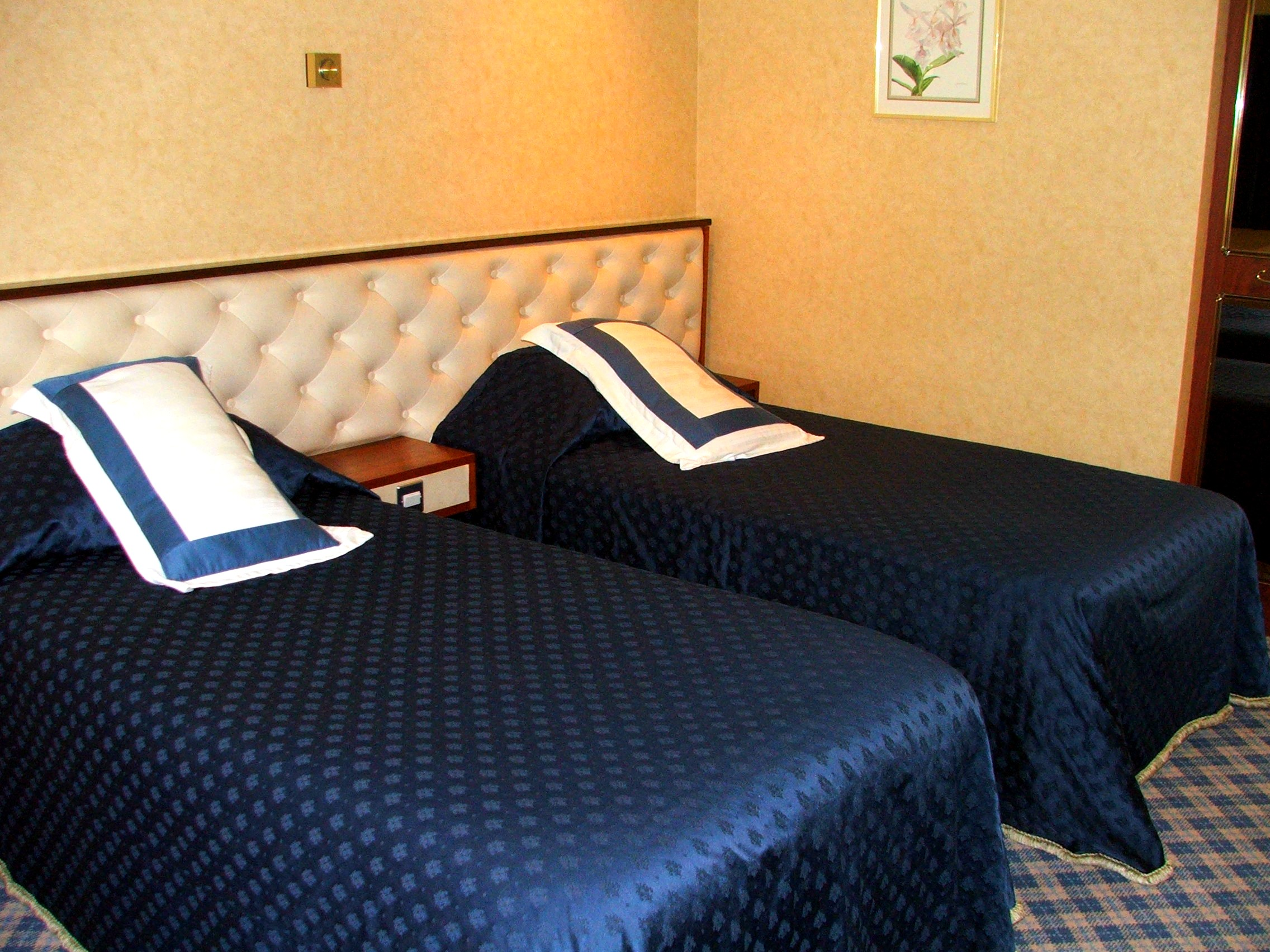 Powfoulis Hotel Bedroom twin