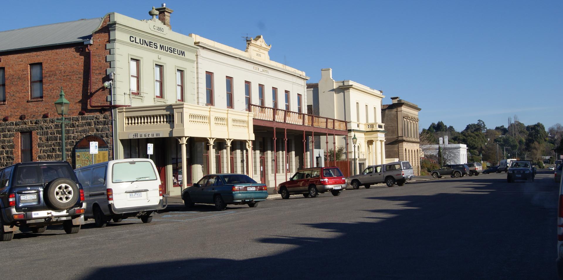 Clunes Main Street