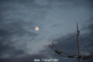 Piste d'envol pour atteindre la lune