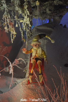 Le chateau du père Noël (détail)