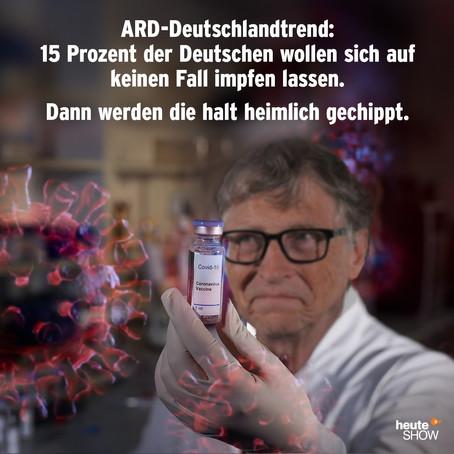 """#RESET2021 - Bill Gates: Erst alle 7 Milliarden Menschen Impfen, dann zurück zur """"Normalität"""""""
