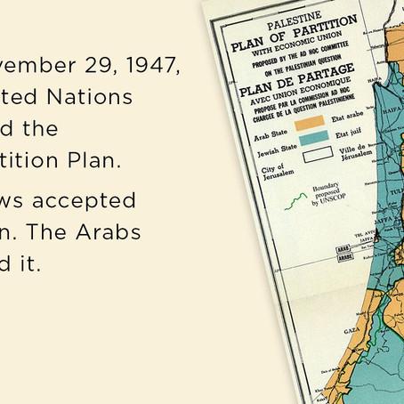 #RESET2021 World Jewish Congress Qanon & Antisemitismus Report - 73 Jahre UN Teilung von Israel