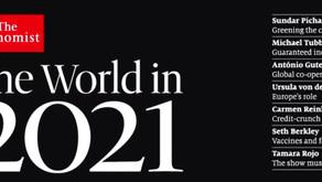 The Economist #RESET2021 Cover - Ein Blick in die Zukunft? (Flintenuschi ist auch dabei)