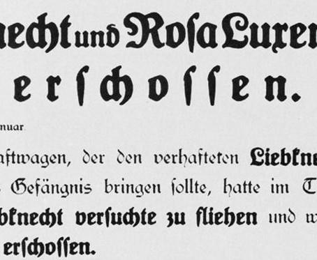 Karl Liebknecht & Rosa Luxemburg erschossen YouTube Kanal Ulf Diebel gelöscht - So geht es weiter...