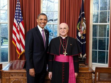 Ex Vatikan Botschafter offenbart Deep State Cooperation mit Papst Franziskus und Freimaurern