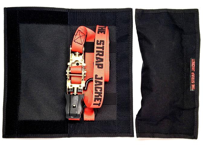 The Strap Jacket Tie-Down Strap Storage Open