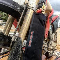 strap jacket motocross mud ratchet