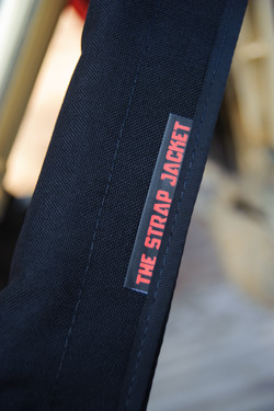 The Strap Jacket up close 2