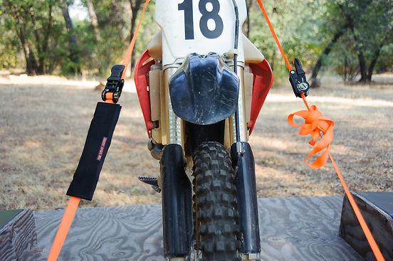 Tthe Strap Jacket Tie-down Excess Strap Control Dirtbike