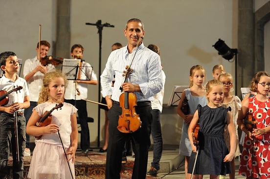 suzuki violon élèves dès 4 ans