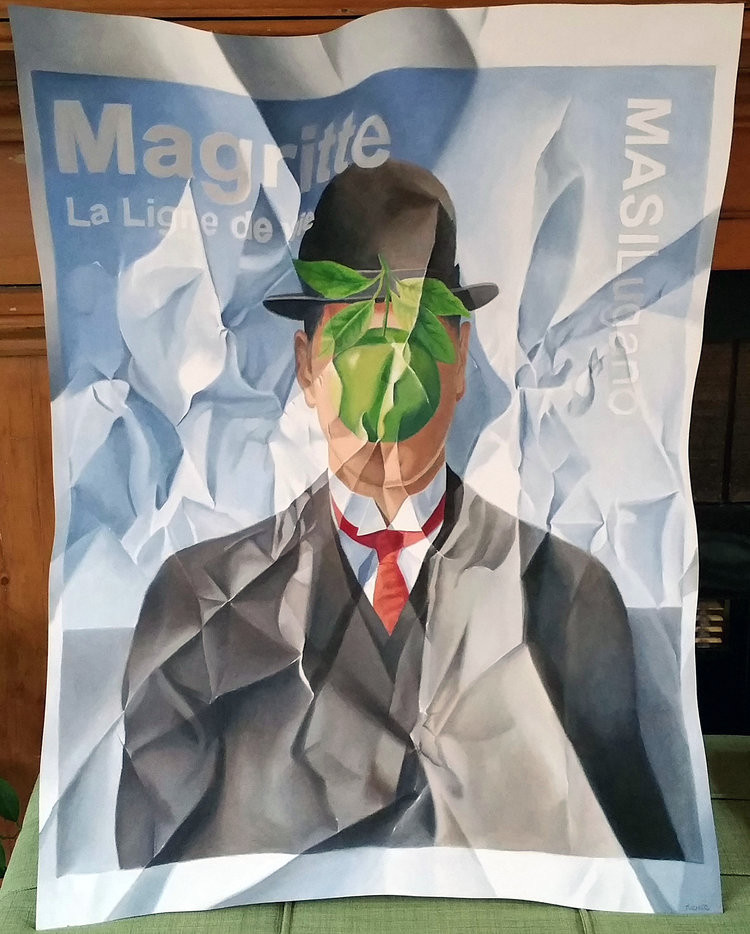 Magritte at the Musi Lugano