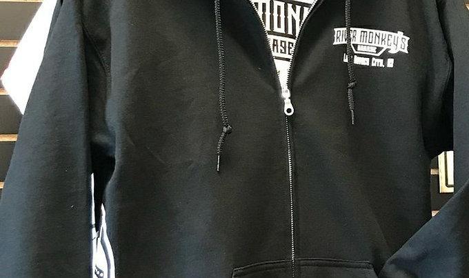 River Monkey's OG Design Zipped Hoodies (Unisex)