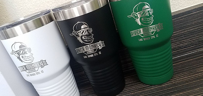 River Monkey's Insulated Cups
