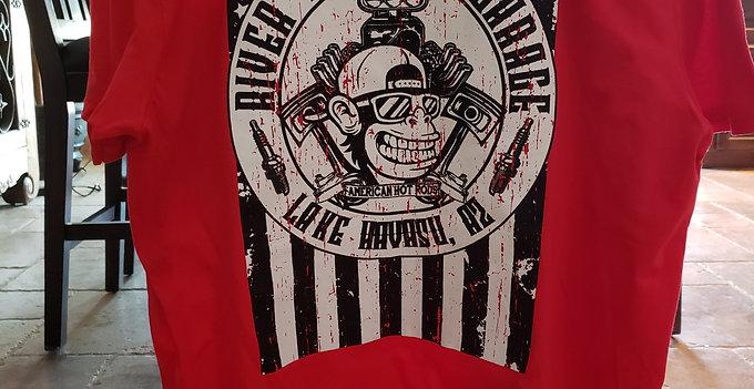 Men's River Monkey's Flag T-Shirt
