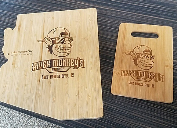 River Monkey's Cutting Boards, Koozie's & More..