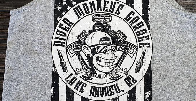 Men's River Monkey's Flag Tank