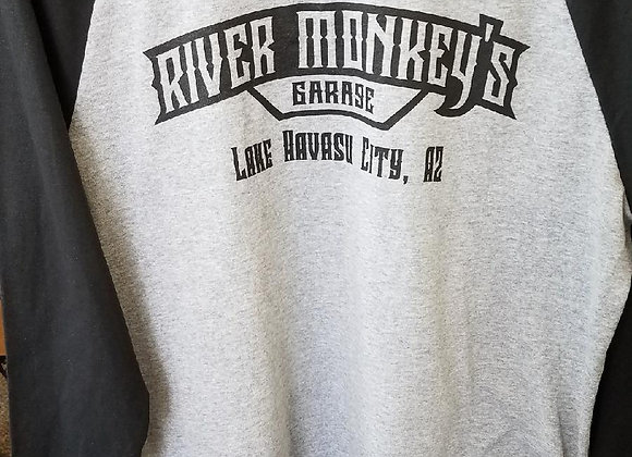 River Monkey's Baseball Tee's