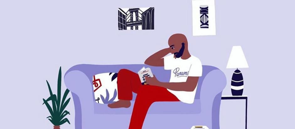 Dessin, Portrait de Geoffrey Dulac par l'artiste Instagram @Playmtm