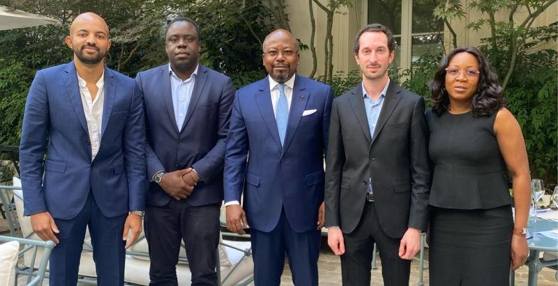 Rencontre avec le Ministre d'Etat du Gabon le 22 Juillet dernier à Paris