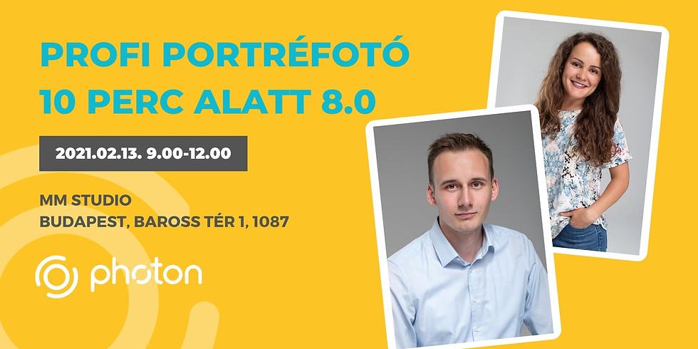 Profi Portréfotó 10 perc alatt! 8.0