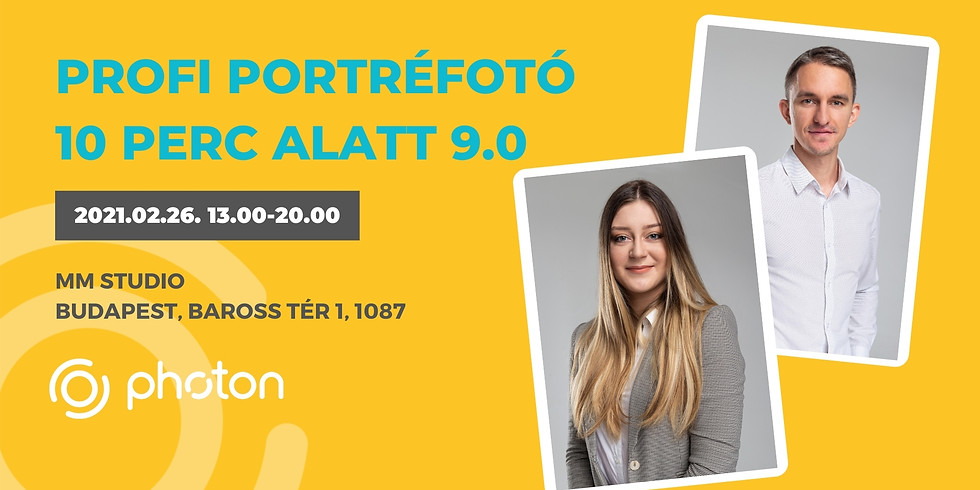 Profi Portréfotó 10 perc alatt! 9.0