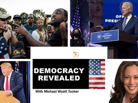 Democracy Revealed Episode 4 Michael Tucker reviews transitions, decisions, and identity politics