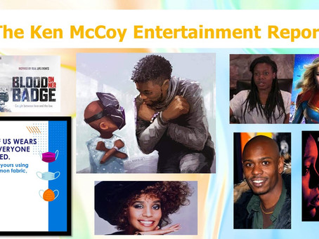 KEM 44:  Houston and Boseman honored posthumously and artistically; Nicoli Smith to direct Marvel 2