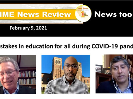 ONR 2-9-21: High-stake losses in education caused by COVID-19 pandemic proves to be detrimental