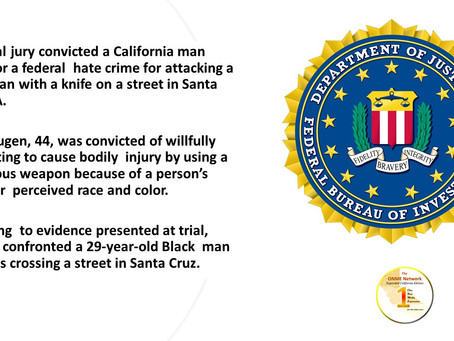FBI steps in to prosecute incidents of hate crimes against African-Americans and Black churches