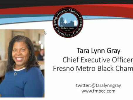 Fresno's mayor and council president appoint FMBCC's CEO Tara L. Gray to Recovery Advisory Committee
