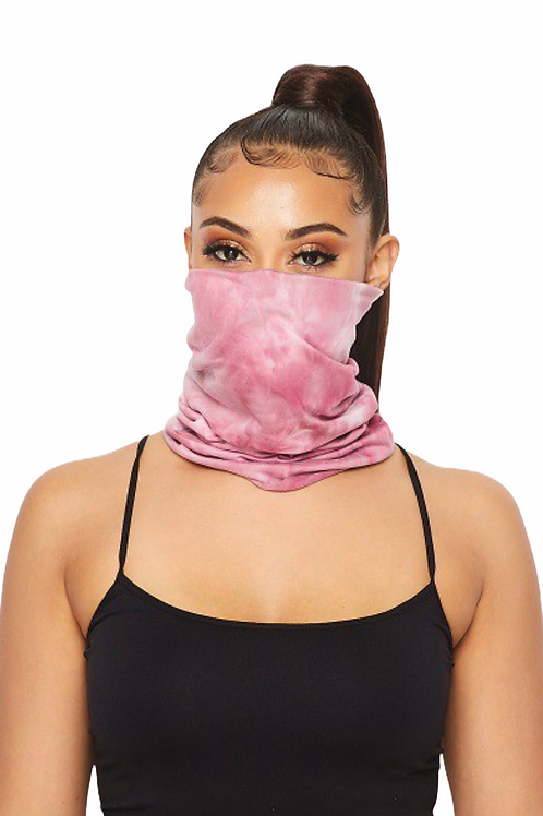 Tie-Dye Face Cover