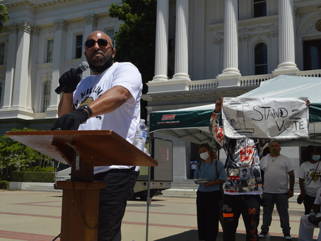 Stop Killing Us: Activists bring their pain to State Capitol