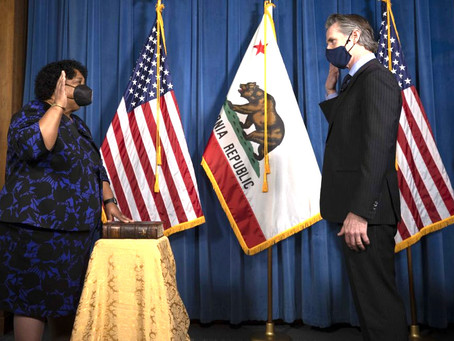 Madam Secretary: Dr. Shirley Weber takes oath to serve as California Secretary of State