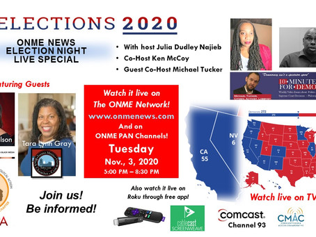 CA 2020 Presidential Elections Part 8: Host reviews CA voting rights, election news, and precautions