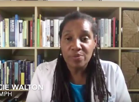 ONR COVID-19 Special Report Part 6:  Dr. Walton openly stresses the disparities among Blacks
