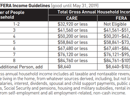 PG&E has several programs that can help low-income families save on energy costs