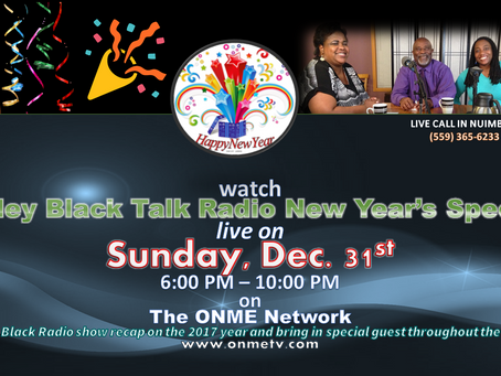 Valley Black Talk Radio to host 4-hour 2017 recap this Sunday on New Year's Eve