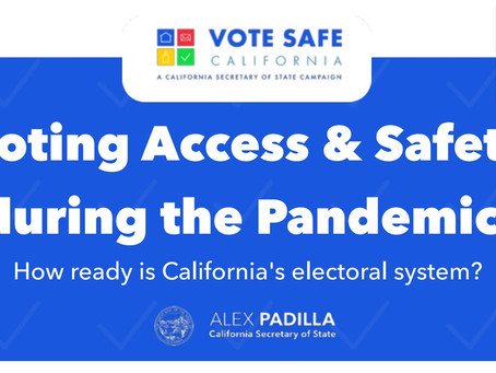 Polls in the Pandemic: What every California voter should know before election day