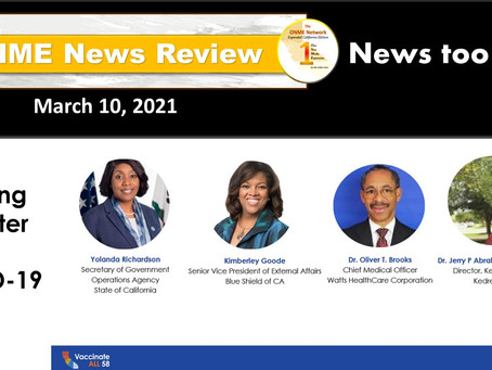 Watch News Too Real 3-10-21:  As California reopens, Black doctors answer nagging COVID questions
