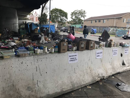 SF BayView:  Challenging Oakland's encampment evictions