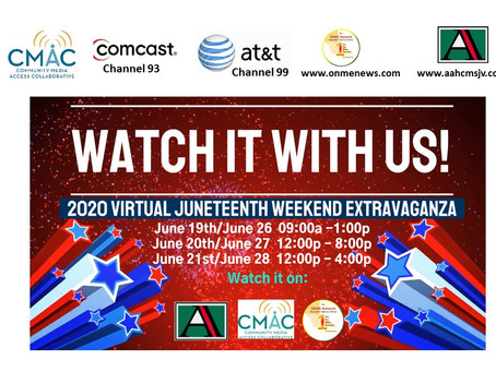 Missed the live Central Valley Juneteenth last week? Watch it this weekend on CMAC or online now