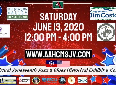 African-American Museum to celebrate Juneteenth and jazz month Central Valley wide virtually online