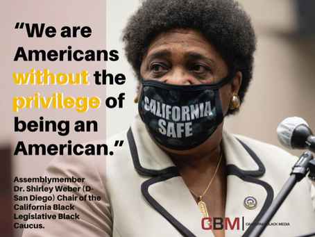 California's Black lawmakers call for converting protest momentum into change