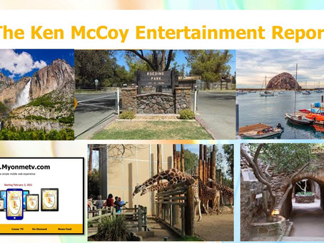 KMER 59: Producer host Ken McCoy gives a virtual tour of California's outside parks