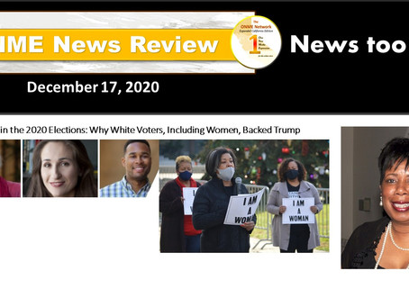 ONR 12-17-20: The Race Gap in the 2020 Elections: Why White Voters, Including Women, Backed Trump