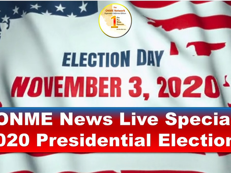 Watch 'ONME News Live Special' on the 2020 Presidential Election here; see guest speakers now