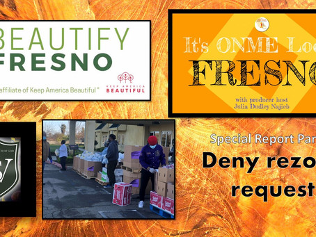 ONME Fresno: Get updates on Planning Commission meeting, Beautify Fresno and Black church food drive